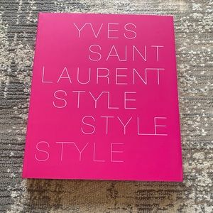 Yves Saint Laurent Style Coffee Table Book